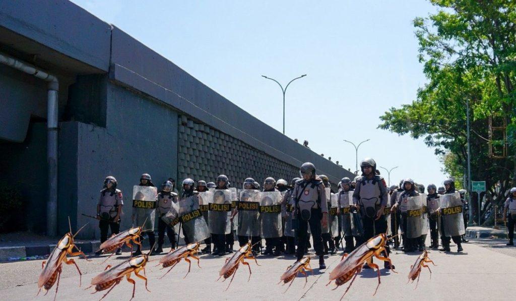 Фото: Барьерная защита от прусаков