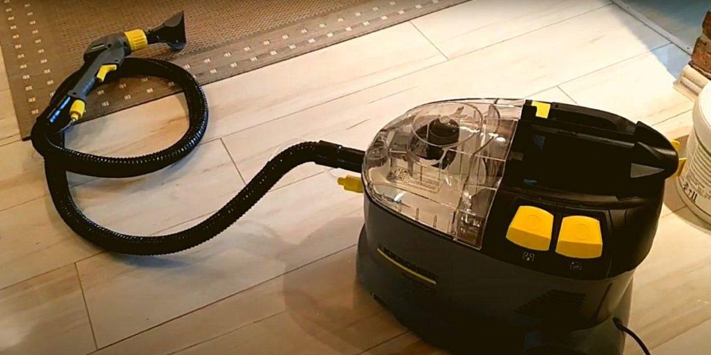 Фото: Уборка моющим пылесосом - идеальный вариант!