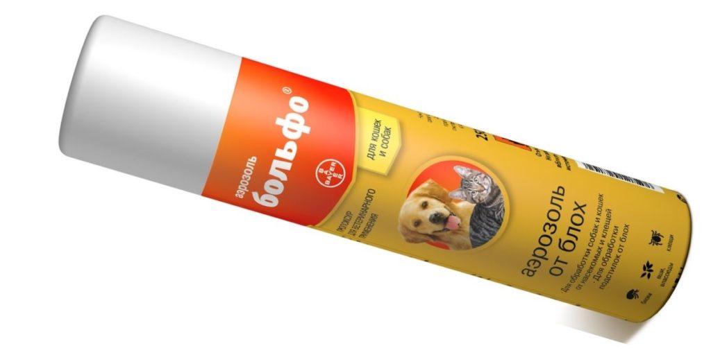 аэрозоль Больфо для собак и котов